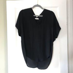 Lush Semi-sheer blouse